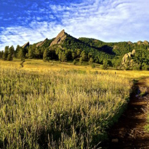 Flatirons Path - Boulder, Colorado